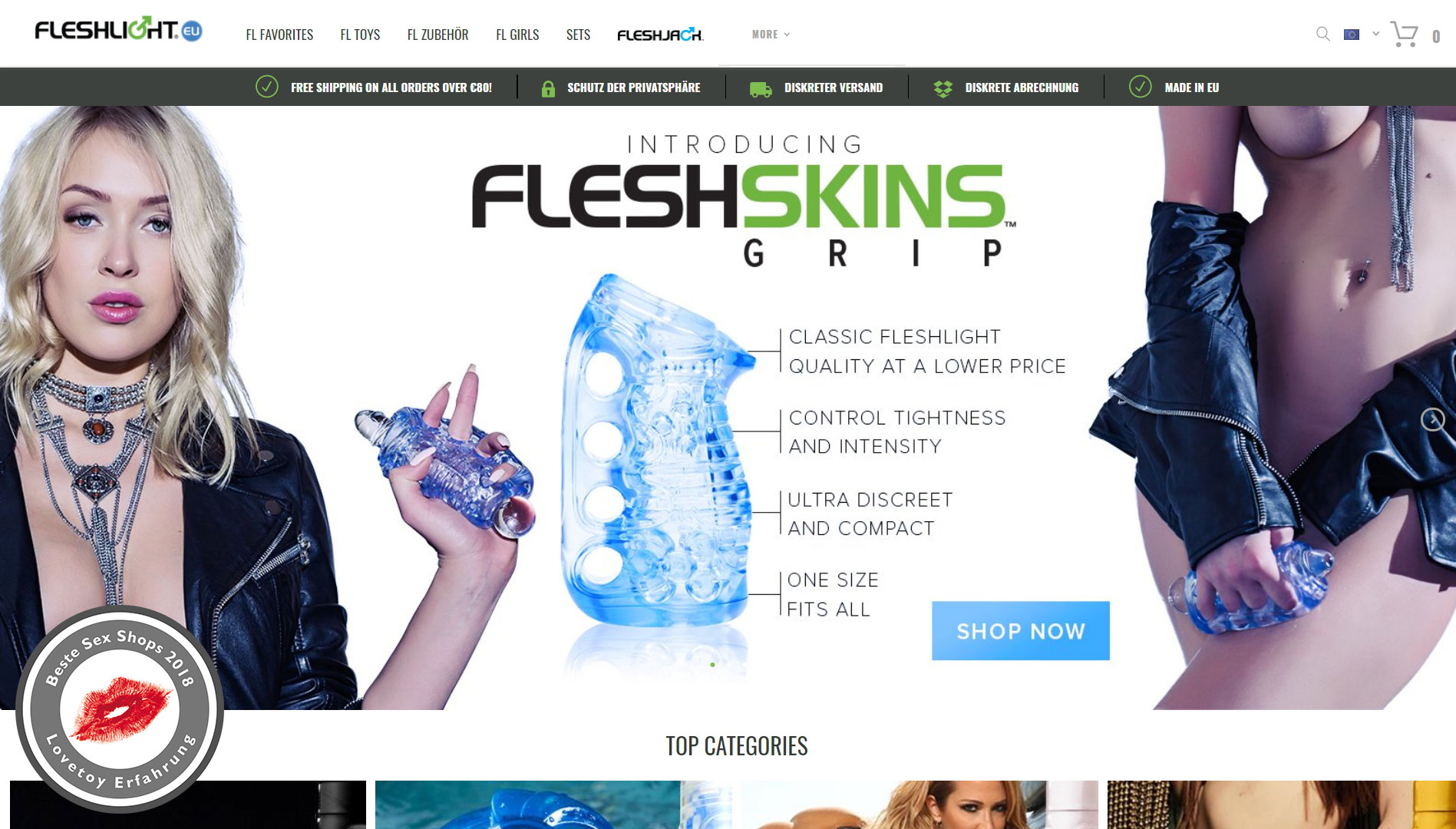 Fleshlight Shop