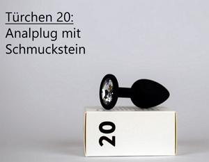 Analplug mit Schmuckstein